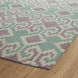 Product Image of Purple, Dark Turquoise, Linen, Mauve (95) Southwestern / Lodge Area Rug