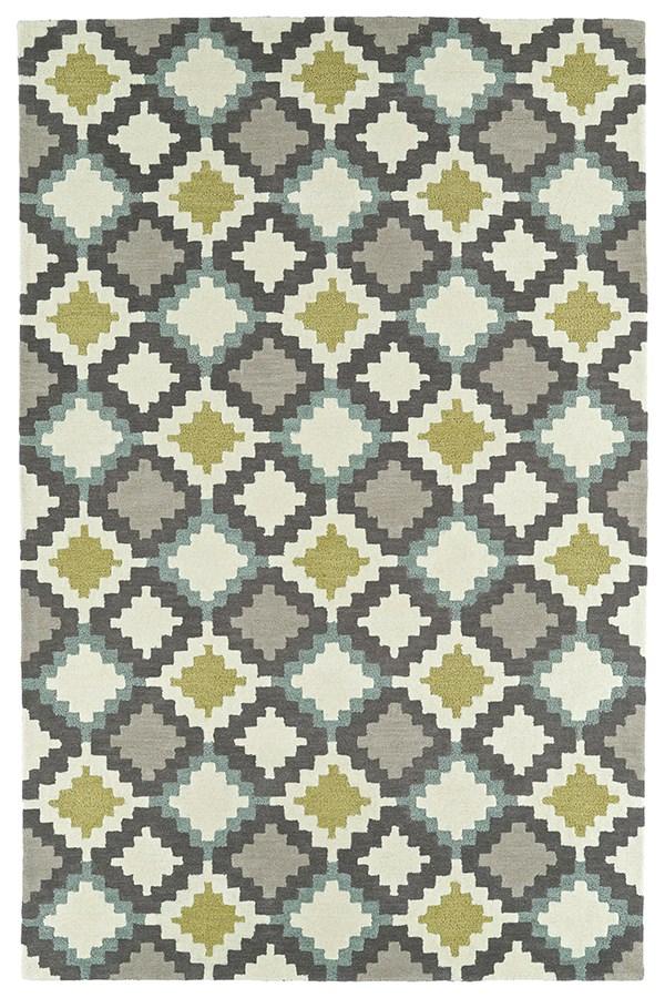 Ivory, Dark Grey, Taupe, Shale Grey (01) Southwestern / Lodge Area Rug