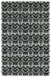Product Image of Moroccan Black, Silver (02) Area Rug