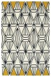 Product Image of Geometric Ivory, Charcoal, Butterscotch (01) Area Rug