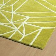 Product Image of Lime Green, Ivory (96) Geometric Area Rug