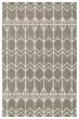 Product Image of Geometric Grey, Ivory (75) Area Rug