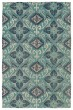 Product Image of Outdoor / Indoor Shale Grey, Silver, Teal, Navy (91) Area Rug