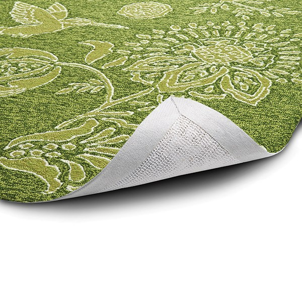 Green, Spring Green, Lime, Lemon (50) Outdoor / Indoor Area Rug