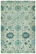 Product Image of Traditional / Oriental Turquoise (78) Area Rug
