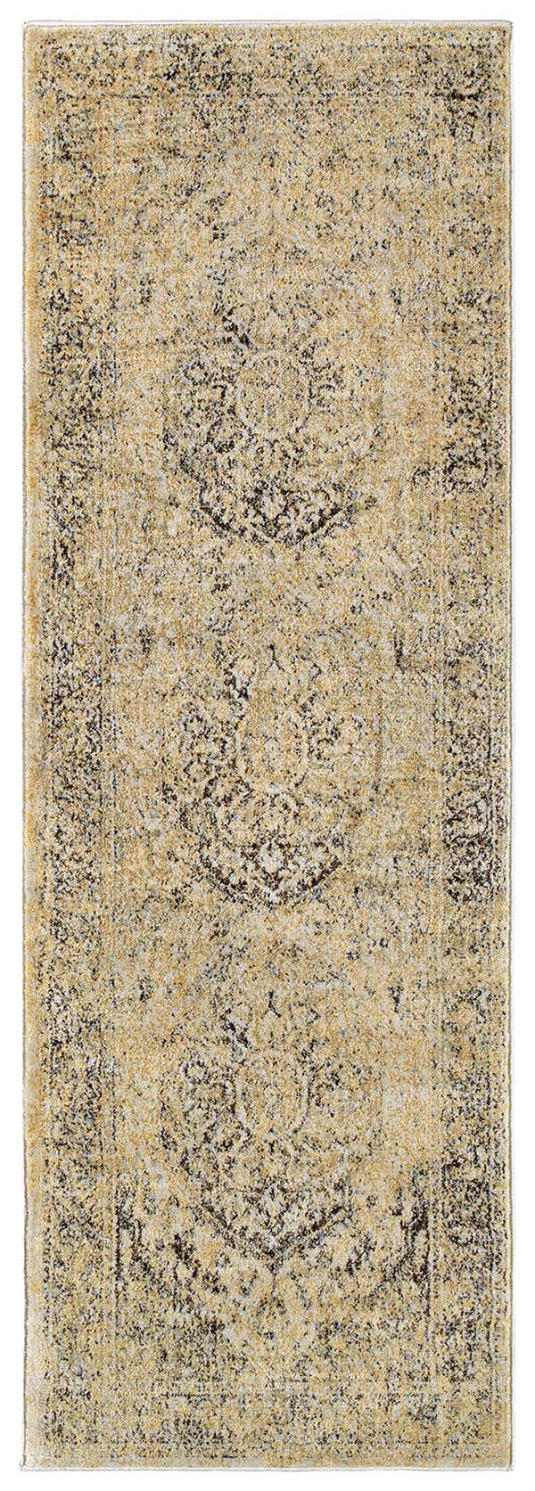 Gold (05) Vintage / Overdyed Area Rug