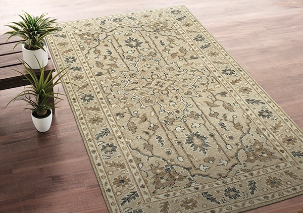 Sand (29) Traditional / Oriental Area Rug