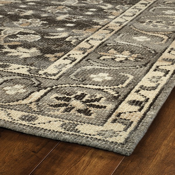 Charcoal (38) Traditional / Oriental Area Rug