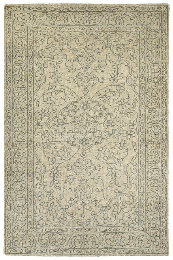 Linen (42) Traditional / Oriental Area Rug