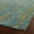Product Image of Peacock (94) Damask Area Rug