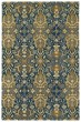 Product Image of Damask Navy (22) Area Rug