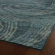 Product Image of Dark Teal (86) Contemporary / Modern Area Rug