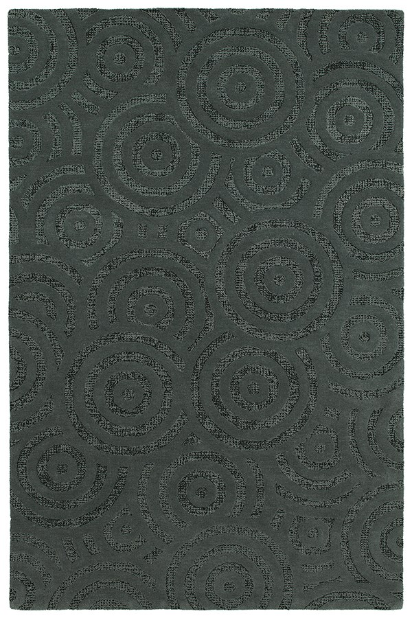 Charcoal (38) Contemporary / Modern Area Rug