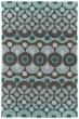 Product Image of Teal (91) Geometric Area Rug