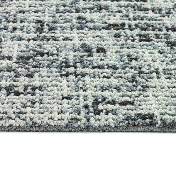 Charcoal, Sky Blue, Ivory (38) Casual Area Rug