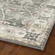 Product Image of Grey, Silver, Ivory (75) Traditional / Oriental Area Rug