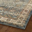 Product Image of Blue, Paprika, Cream (17) Traditional / Oriental Area Rug