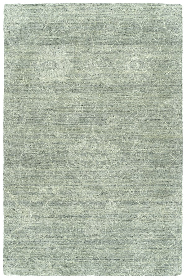 Silver, Grey, Linen (77) Traditional / Oriental Area Rug