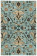 Product Image of Outdoor / Indoor Blue, Fawn, Chocolate (17) Area Rug