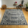 Product Image of Blue, Grey, Silver (17) Outdoor / Indoor Area Rug