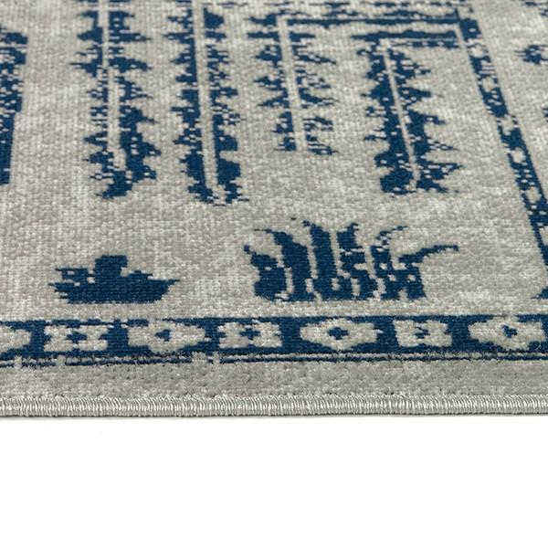 Blue, Grey, Silver (17) Outdoor / Indoor Area Rug