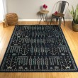 Product Image of Navy, Black, Turquoise (22) Outdoor / Indoor Area Rug