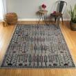 Product Image of Dark Grey, Plum, Turquoise (86) Outdoor / Indoor Area Rug