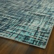 Product Image of Turquoise, Black, Grey (78) Outdoor / Indoor Area Rug