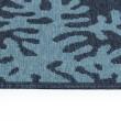 Product Image of Navy, Light Blue, Orange (22) Outdoor / Indoor Area Rug