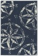 Product Image of Navy, Ivory Outdoor / Indoor Area Rug