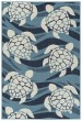 Product Image of Outdoor / Indoor Light Blue, Ivory, Navy (79) Area Rug