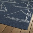 Product Image of Navy, Ivory (22) Outdoor / Indoor Area Rug