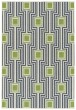 Product Image of Outdoor / Indoor Navy, Lime Green, Ivory (22) Area Rug
