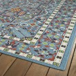 Product Image of Light Blue, Orange, Lime Green Outdoor / Indoor Area Rug