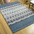 Product Image of Navy, Ivory, Light Blue Outdoor / Indoor Area Rug