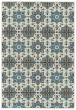 Product Image of Light Blue, Ivory Outdoor / Indoor Area Rug