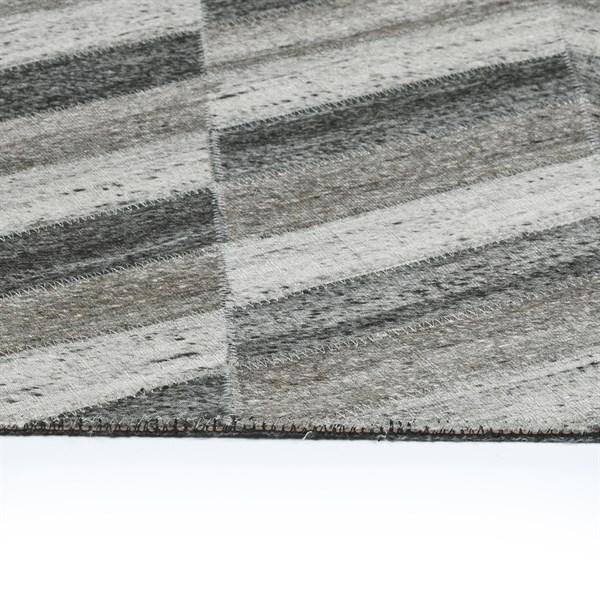 Charcoal (38) Chevron Area Rug