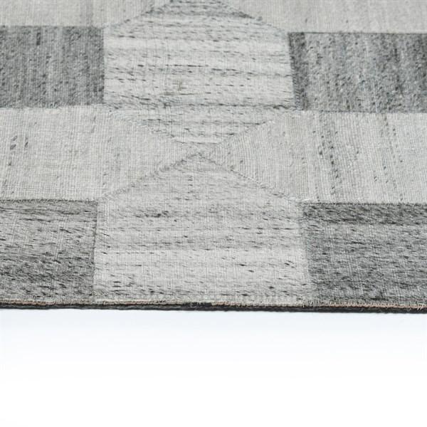 Grey (75) Geometric Area Rug