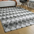 Product Image of Charcoal (38) Geometric Area Rug
