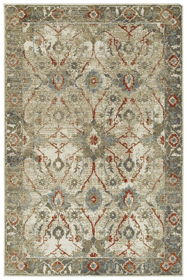 Gold (05) Traditional / Oriental Area Rug