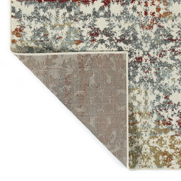 Rust, Spa, Gold (86) Transitional Area Rug