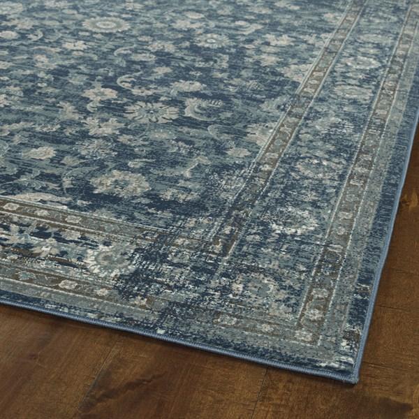 Blue (17) Vintage / Overdyed Area Rug