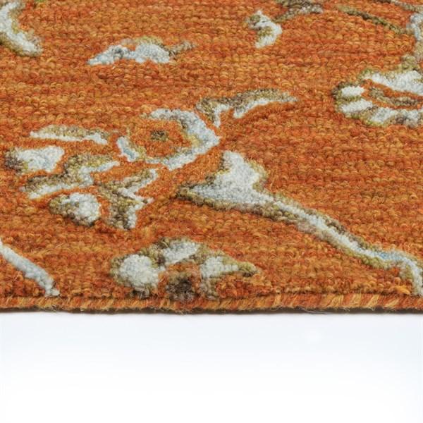 Orange (89) Natural Fiber Area Rug