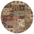 Product Image of Charcoal, Burgundy, Mocha (38) Contemporary / Modern Area Rug