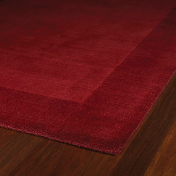 Red (7825) Bordered Area Rug