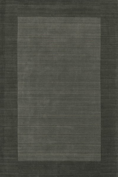 Charcoal (38) Bordered Area Rug