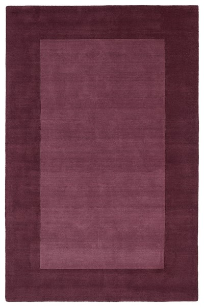 Grape (109) Bordered Area Rug