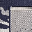 Product Image of Blue, Cream Outdoor / Indoor Area Rug