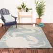 Product Image of Green, Blue, Cream Outdoor / Indoor Area Rug