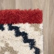 Product Image of Red, Cream, Black Southwestern / Lodge Area Rug